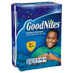 Goodnites Youth Pants for Boys Large/X-Large, Mega Pack 20 ea