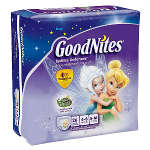 Goodnites Youth Pants for Girls Small/Medium, Mega Pack 26 ea