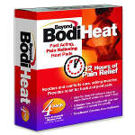 Beyond BodiHeat® Muscles and Joint Adhesive Patch, 4 ea