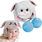 Cool Gel N Cap Kids Ice & Heat Packs/ First Aid Cap - Tulip The Bunny