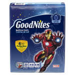 Goodnites® Boys Nighttime Pants, Small/Medium, 38 to 65 lbs, 33 ea