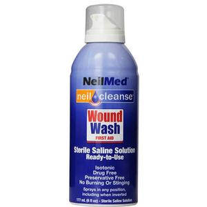 Neil Cleanse Sterile Saline Spray Solution, 6 oz