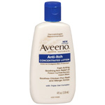 Aveeno Anti-Itch Concentrated Lotion, 4 fl oz