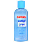 Band-Aid Antiseptic Wash, Hurt-Free, 6 fl oz
