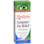 Similasan Computer Eye Relief Eye Drops - .33 fl oz, #3 for Eye Fatigue, .33 fl oz