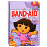 Band-Aid - Children's Adhesive Bandages, Assorted Sizes, Dora the Explorer, 25 ea