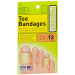 Profoot Care Toe Bandages, 3 ea