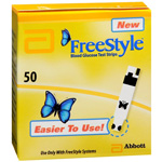 FreeStyle Test Strips (Monitor Sold Separately), 50 ea