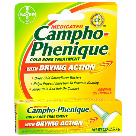 Campho-phenique Cold Sore Treatment with Drying Action ...