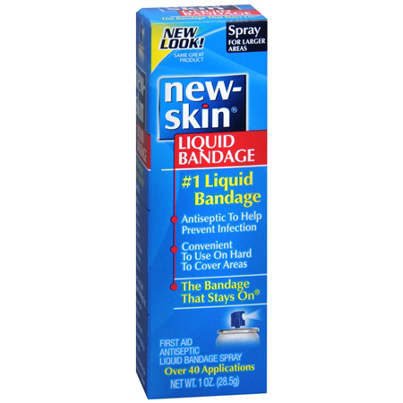 New-Skin Antiseptic Liquid Bandage Spray, 1 fl oz