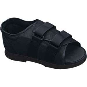 Bell Horn Female Post-Op Shoe, Large Black, 1 ea, #81147