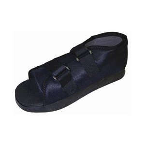 Bell Horn Female Post-Op Shoe, Medium Black, 1 ea, #81145