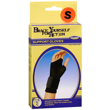 Bell Horn Brace Yourself Support gloves Large,#99340