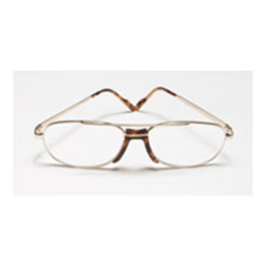 Reading Glasses Frame Measurements : Reading Glasses 2.25 power Square Mens Metal Frame Size ...