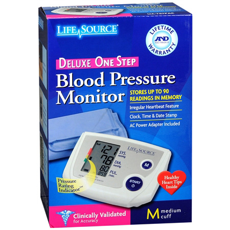 life source blood pressure monitor ua 767 plus manual