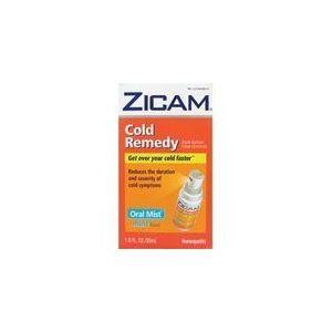 Zicam Cold Remedy Homeopathic Oral Mist Mint 1 Fl Oz